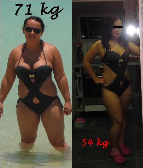 80– 60 kg fogyás